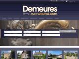 Demeures-anciennes.com site - Frédéric DUROSOY IMMOBILIER