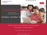 Depannage informatique à domicile - Assistance cours informatique - Creation de site internet web