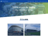 Billet pas cher pour suivre vos matchs de rugby