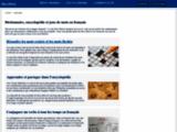 Moteur de recherche de mots-croises et dictionnaire en ligne