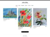 encre,couleur,lumiere,abstrait,art,figuratif,douceur,tendresse,portrait,floral,