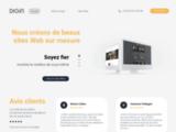 Digin - webmarketing - création de site Web - social media
