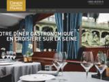 Diner croisiere Paris - Le meilleur de la Seine à Paris