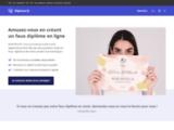 Prestation de faux diplômes en ligne