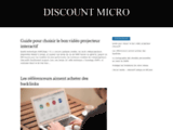 Discount-micro revendeur informatique et high tech 77600 - Bussy-Saint-Georges
