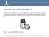 Distillateur de qualité disponible sur le site web distillateur-eau.fr