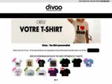 TEE SHIRT DIVAO : Vente en ligne de Tee Shirts personnalisés et de T-Shirt imprimé