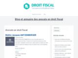 Droitfiscal : Annuaire et blog sur le droit fiscal