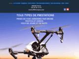 Prises de vues aériennes par drone en région PACA