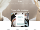 Vente de cosmétiques bio, vegan, mode zéro déchet, made in France