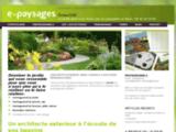 E-Paysages - paysagiste conseil, aménagement de jardin en ligne