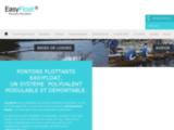 Fabricant pontons flottants avec EasyFloat