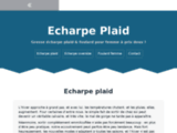 Echarpe Plaid | Grosse écharpe plaid & foulard à prix doux !