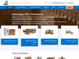EDC Transmouss - Fabrication et transformation d'emballages en carton sur mesure