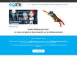 Referencement de site avec eGate Référencement