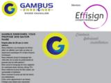 Gambus enseignes Cavaillon Vaucluse enseigne lumineuse neons 84 totems impression numerique films solaire