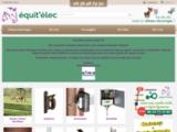 Equitelec : vente de cloture electrique et d'accessoires
