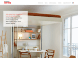 Lits mezzanine, meubles gain de place. - Espace Loggia