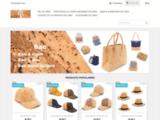Boutique Sac en Liege Portefeuille Bijoux en liege du Portugal   Maroquinerie Ve