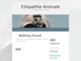 Etiopathie animale