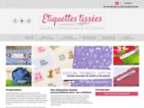Étiquettes Tissées Personnalisées et Textile Personnalisé - Etiquettes Tiss