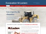 Excavation Rive-Sud – Excavation M.Leclerc