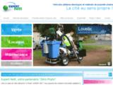 Expert Nett, véhicules électriques et matériels de propreté urbaine