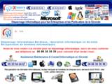 Dépannage Informatique Bordeaux-Réparation ordinateur-Dépannage PC et MAC en Gironde
