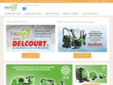 Faimax - Autolaveuse, autolaveuse batterie, monobrosse, aspirateur eau, echafaudage roulant, nettoyage Faimax