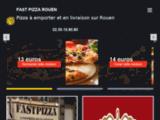 Fast pizza rouen,pizza en livraison et a emporter pour rouen et ses alentours