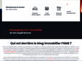 FGME : le meilleur de l'information immobilière
