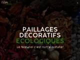 Paillages décoratifs écologiques