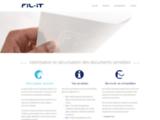 Papier filigrané pour documents personnalisés : Fil-iT