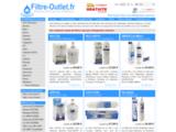 Filtre-Outlet.fr: Achat Filtres à eau Frigo & Réfrigérateur américain