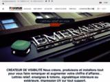 Foliopub : La société Foliopub est spécialisée dans le marquage adhésif et enseignes lumineuses