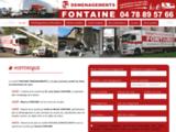 Fontaine société de déménagement à Lyon 69000 et Rhône (69), déménageur à 69006