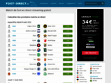 Foot streaming gratuit