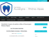 Dentistes à Lyon , Grenoble ou autre villes d'Auvergne-Rhône-Alpes
