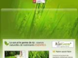 Fortivia : fournisseur de germe de riz OryzaGerm, en granule, poudre ou paillette