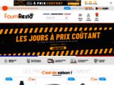 FourniResto.com - Equipement pour la restauration, restauration rapide - FourniResto