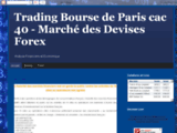 Trading forex cac 40 - conseil bourse en direct analyse