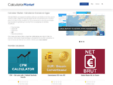 Calculator Market | Calculatrice Gratuite en Ligne