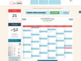 Agenda, planning, calendrier : Imprimez-les dès maintenant sur Calenweb.com