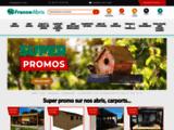 France-Abris.com : Garage Metal, Abri Jardin Metal PVC Bois, Abri Camping-Car, Gazebo, Design, COUP DE ?
