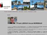 Frank LEDOUX avocat au Barreau de Bordeaux