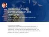 Frédérique Pons, communication territoriale