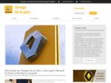 Garagiste Soissons pas cher - Garage de la Gare Renault à Montigny-Lengrain