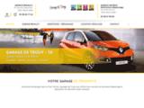 Garage Compain dans le Cher (18) : concession Renault - Dacia