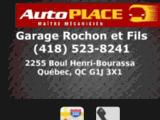 Garage Rochon et fils, garagiste auto à Limoilou Quebec