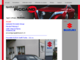 Garage Piccand, concessionnaire Suzuki